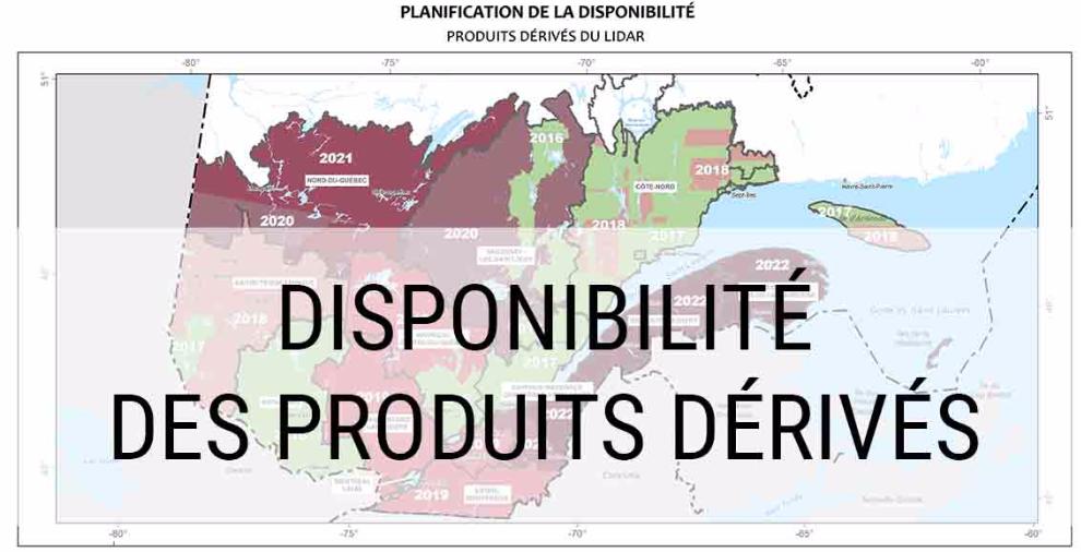 Planification des produits dérivés du LiDAR