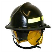casque incendie
